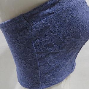 Mudd Intimates & Sleepwear - Mudd bralette Small NWT cinched lace floral